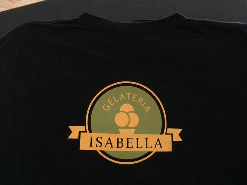 webbycom réalise le marquage de tee-shirts pour les professionnels de la restauration : bar, restaurant, camping, brasserie, glacier