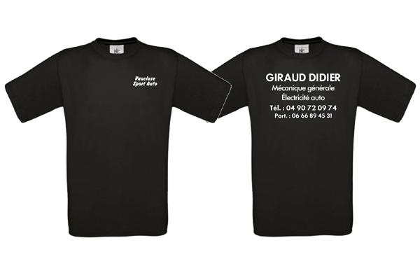tee shirt en flex par webbycom