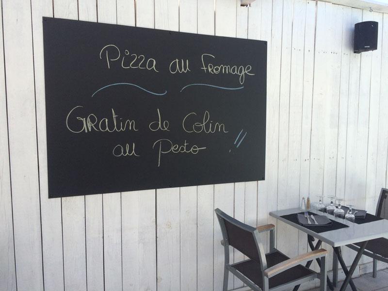 webbycom fabrique les panneaux en ardoisine pour les professionnels de la restauration : bar, restaurant, camping, brasserie, glacier
