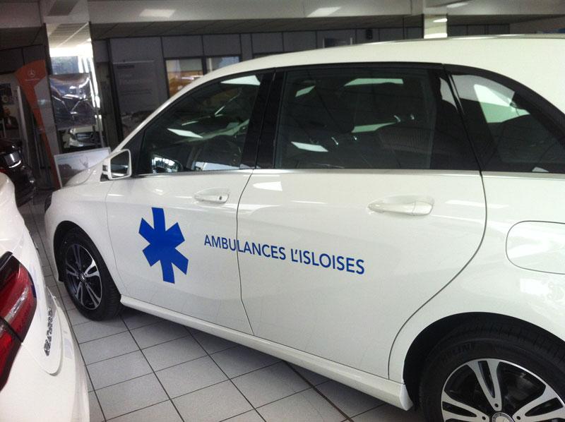 kit adhésif pour ambulance par webbycom