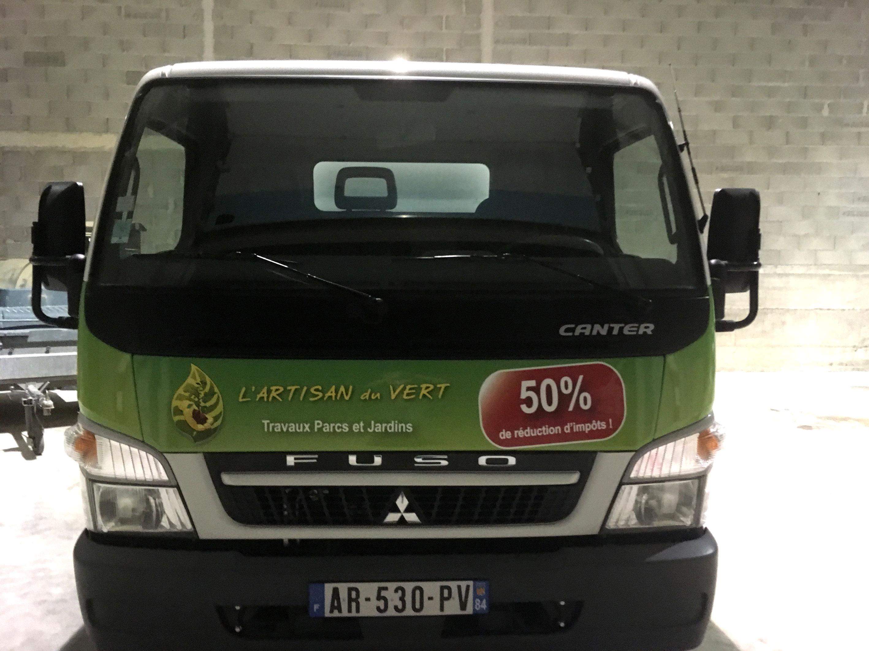 marquage camion webbycom