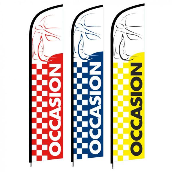 webbycom propose des drapeaux pour les professionnels de l'automobile : garage, concession, club, association, …