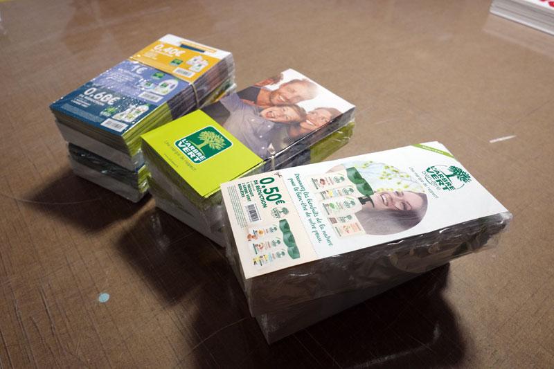 webbycom fabrique les cartes de visite, flyers, cartes de fidélité, facturier, blocs, affiches, pour les commerçants.