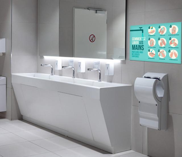 panneau consignes lavage des mains par webbycom