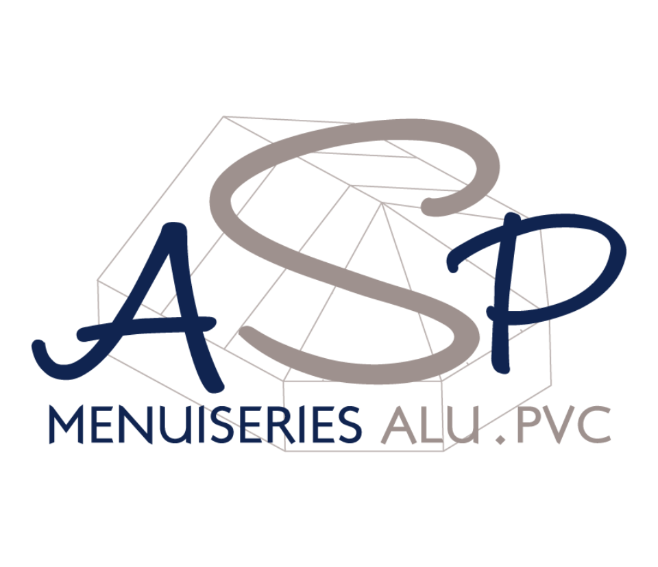 Relooking du logo de la menuiserie ASP par webbycom, agence de communication à L'Isle sur la Sorgue