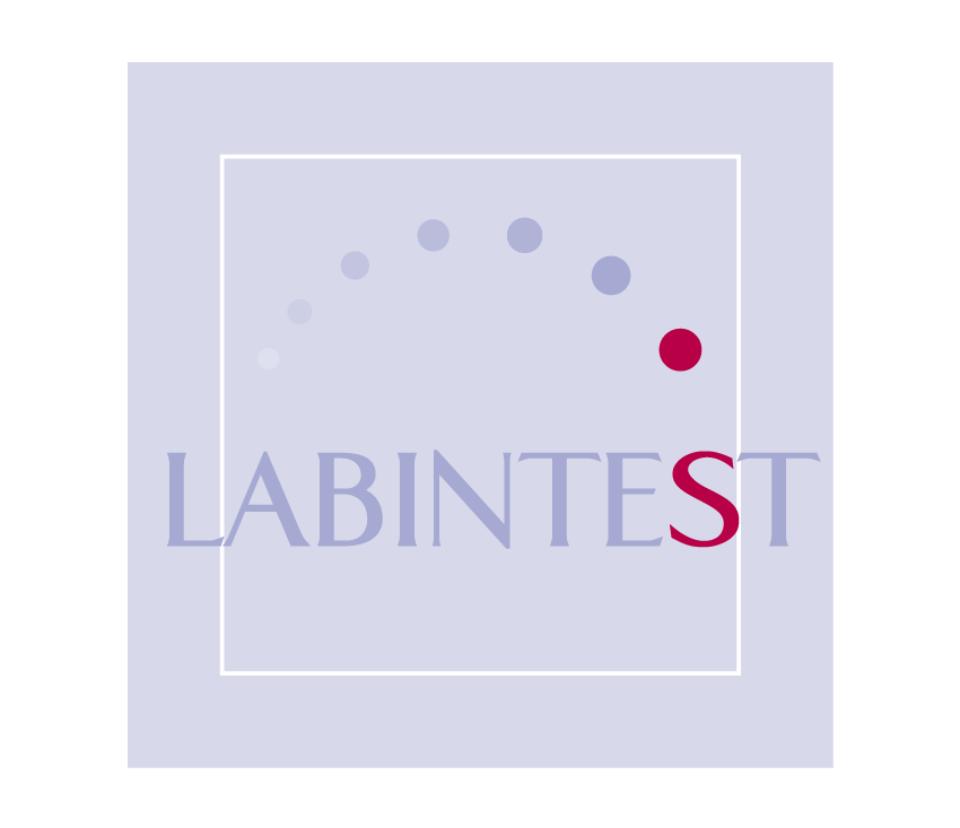 Relooking du logo de la société Labintest par webbycom, agence de communication à L'Isle sur la Sorgue