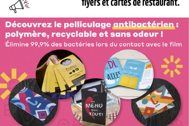 Pelliculage anti bactérien