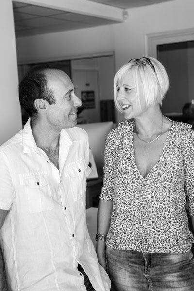 Véronique MICHEL et Serge LONG, dirigeants de Webbycom